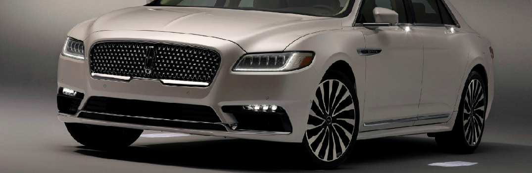 Welcome Mat on 2017 Lincoln Continental