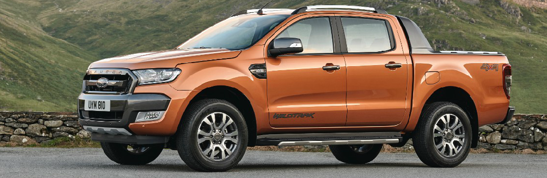 Side of the Ford Ranger