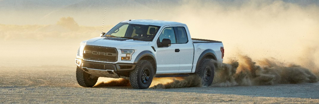 White 2017 Ford F-150 Raptor