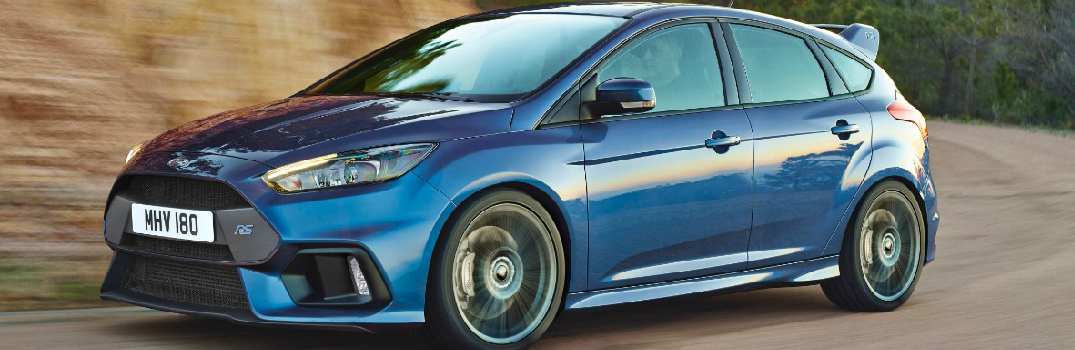 2016 Ford Focus RS Driving