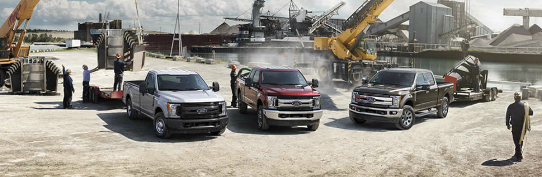 2017 Ford Super Duty Lineup