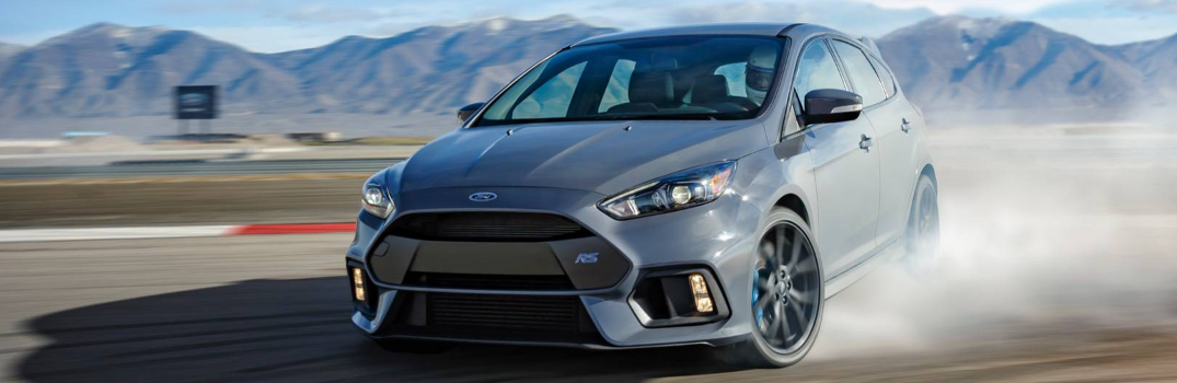 2016 Ford Focus RS Drifting