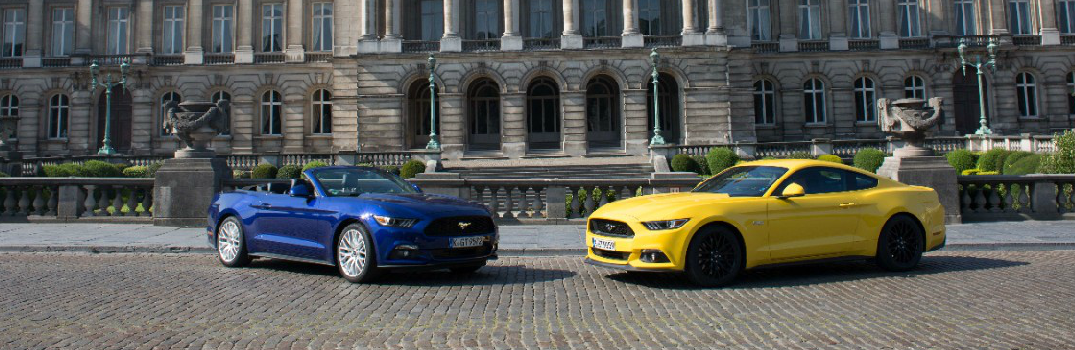 2017 Ford Mustang Fastback and Convertible Exterior