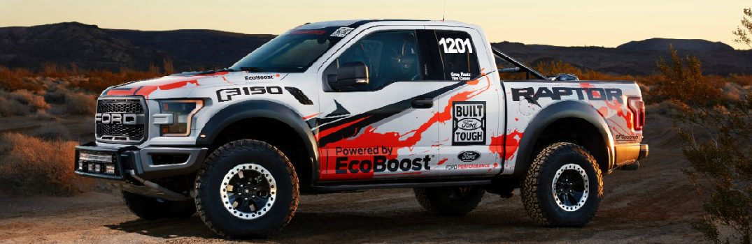New 2017 Ford Raptor with Racing Decals