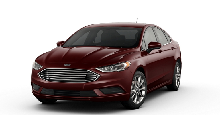 2020 Ford Fusion exterior color options