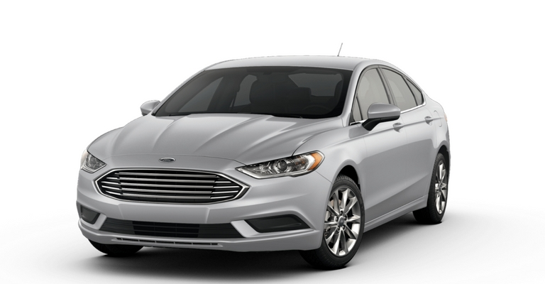 2017 Ford Fusion In Ingot Silver
