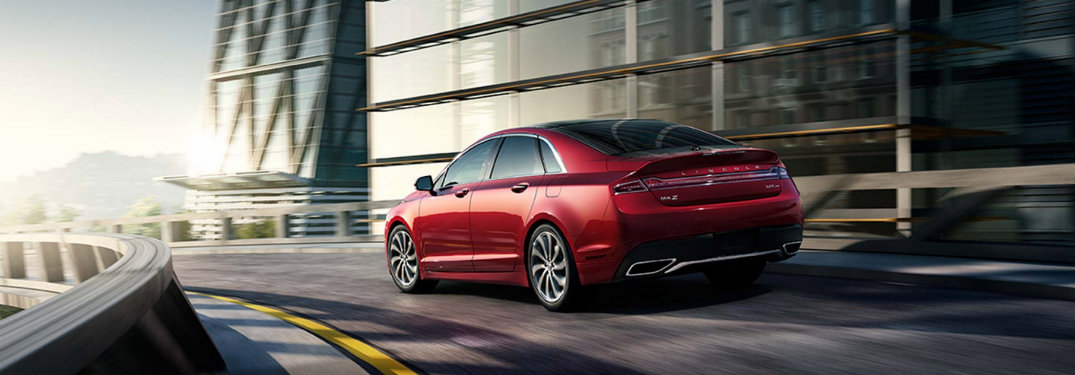 2017 Lincoln MKZ standard safety features