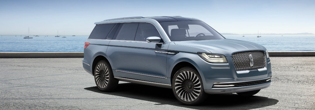 New Lincoln Navigator Concept features