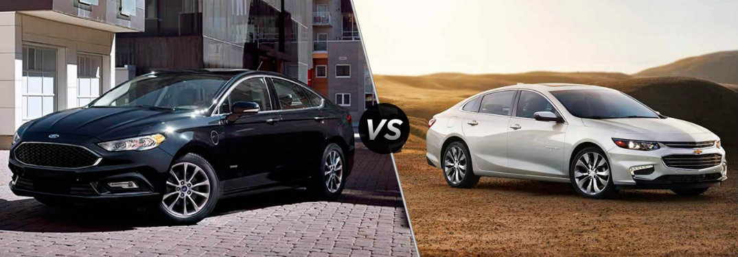 2017 Ford Fusion vs 2017 Chevy Malibu