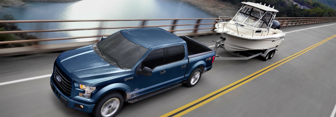 2017 Ford F-150 Towing Capacity