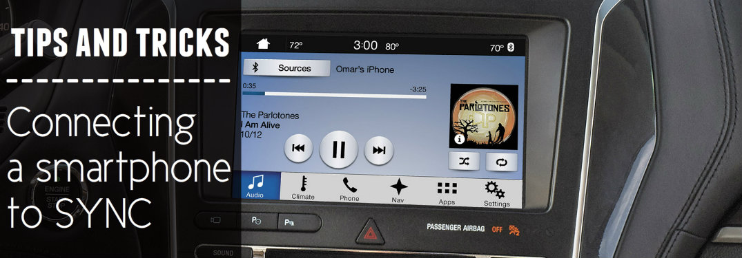 How to connect your smartphone to Ford's SYNC system