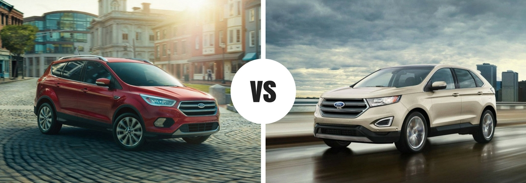 Is the Ford Escape bigger than the Ford Edge?
