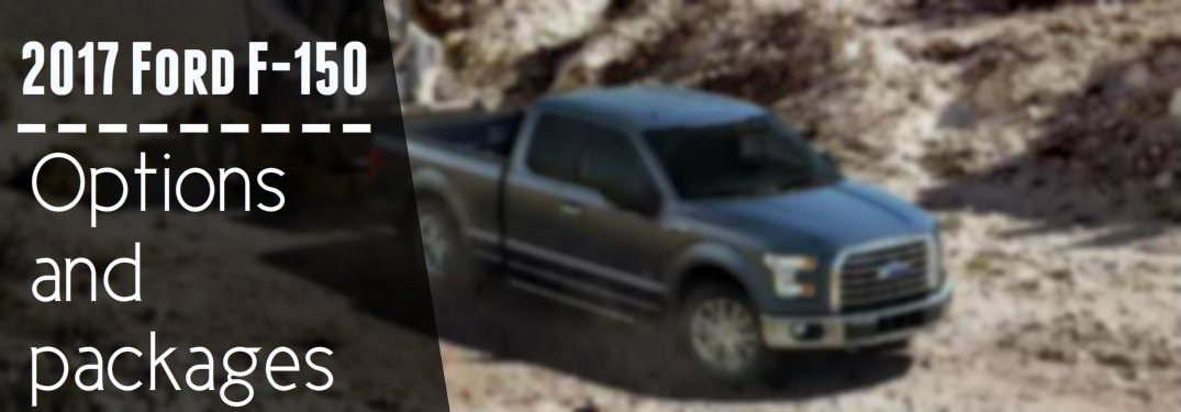 2017 ford f 150 options and packages. Black Bedroom Furniture Sets. Home Design Ideas