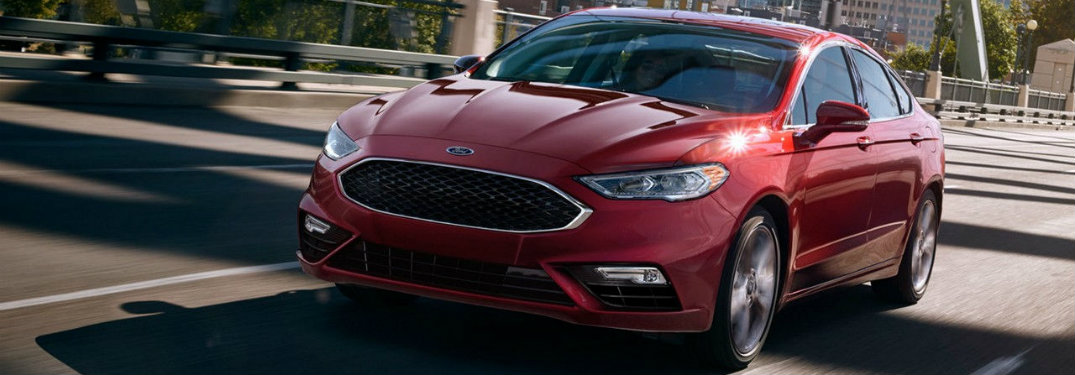 2017 Ford Fusion trim levels explained