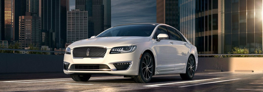 2017 Lincoln MKZ color options