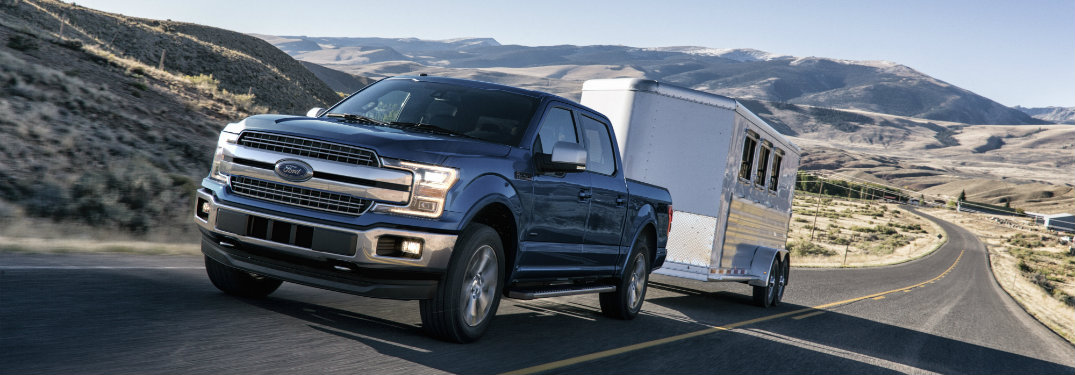 What features does the 2018 Ford F-150 come with