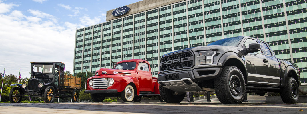 100 Years of Ford Trucks in 30 Seconds Video