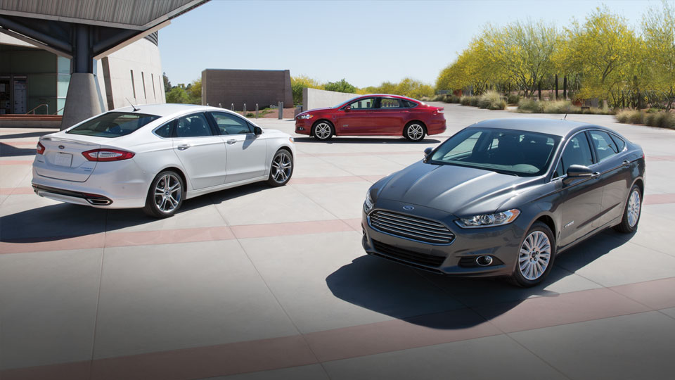 2015 Ford Fusion gives drivers many power choices