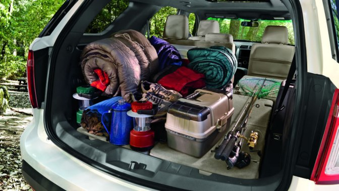 Ford Escape Trunk Space Dimensions >> 2014 Ford Explorer offers more versatility than any other SUV