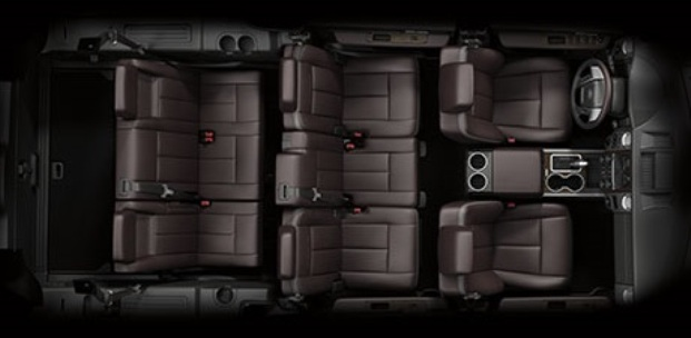 passenger space ford expedition - Ford Explorer 2015 Trunk Space