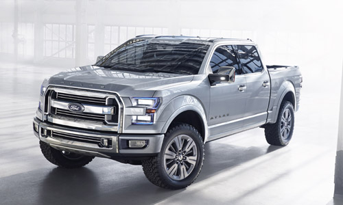 Ford Atlas Concept Truck Gives Possible F150 Preview  Mike