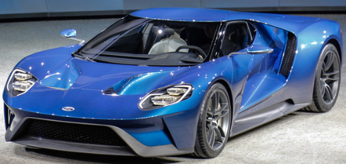 Ford GT Takes Home Hardware at Detroit Auto Show