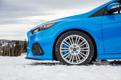 Winter Tire kit on the 2016 Ford Focus RS