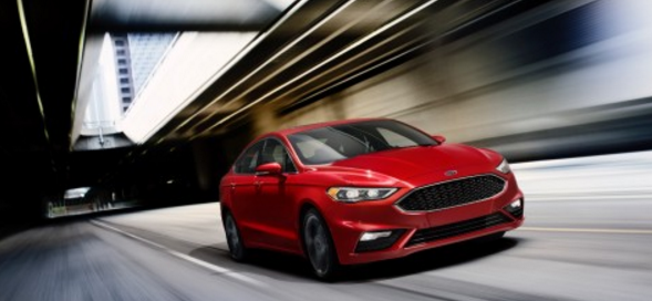 New 2017 Ford Fusion Sport Announced
