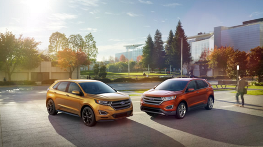 Available Colors on the 2016 Ford Edge