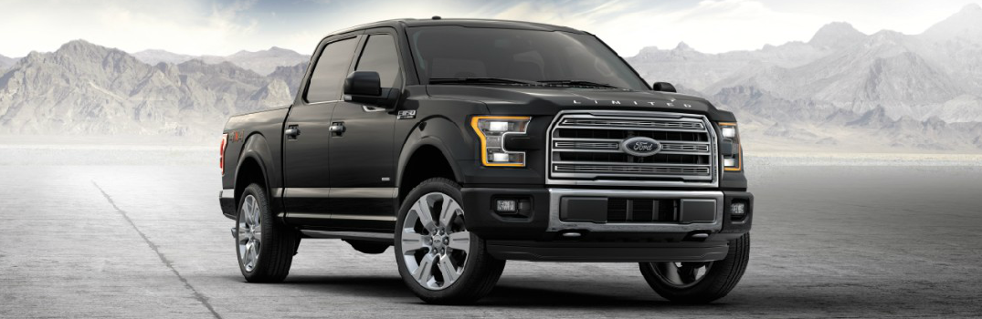 New 2016 Ford F-150 Limited