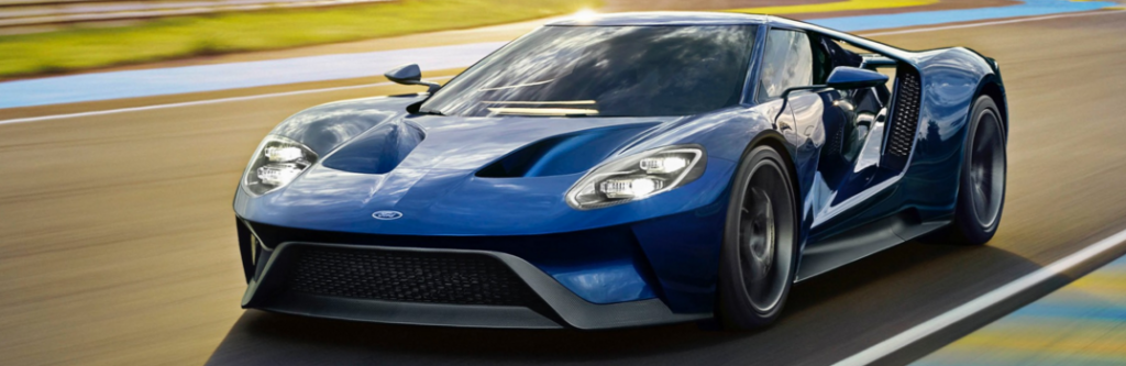 2017 Ford GT on a Track