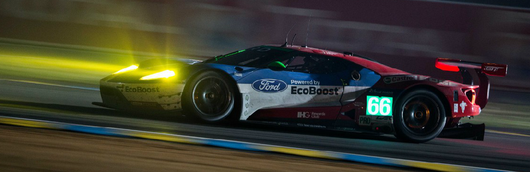 2017 Ford GT Racing in 24 Hours of Le Mans