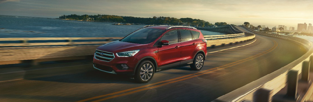 Red 2017 Ford Escape Exterior
