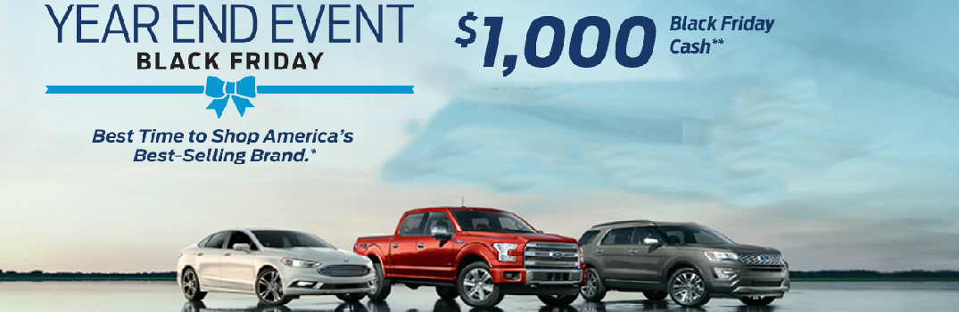 Ford Year End Sales Event at Mike Castrucci Ford