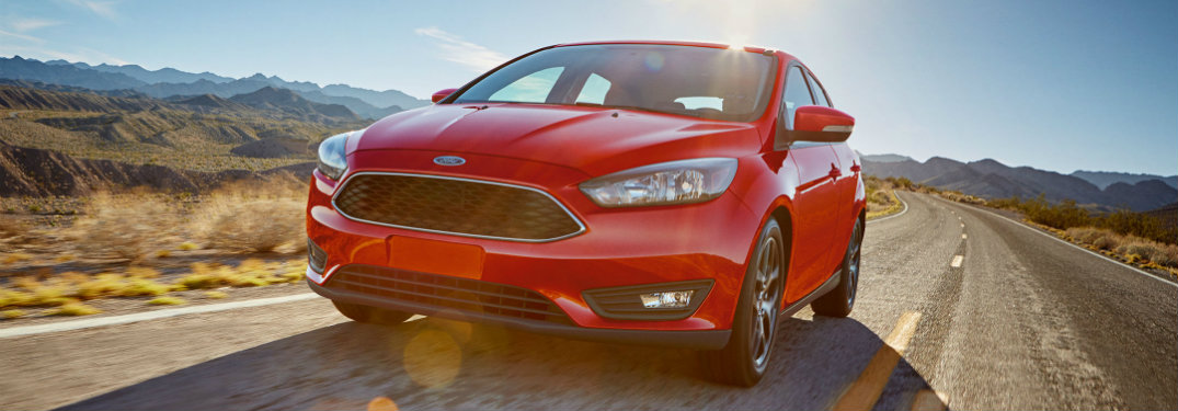 2017 Ford Focus standard safety features