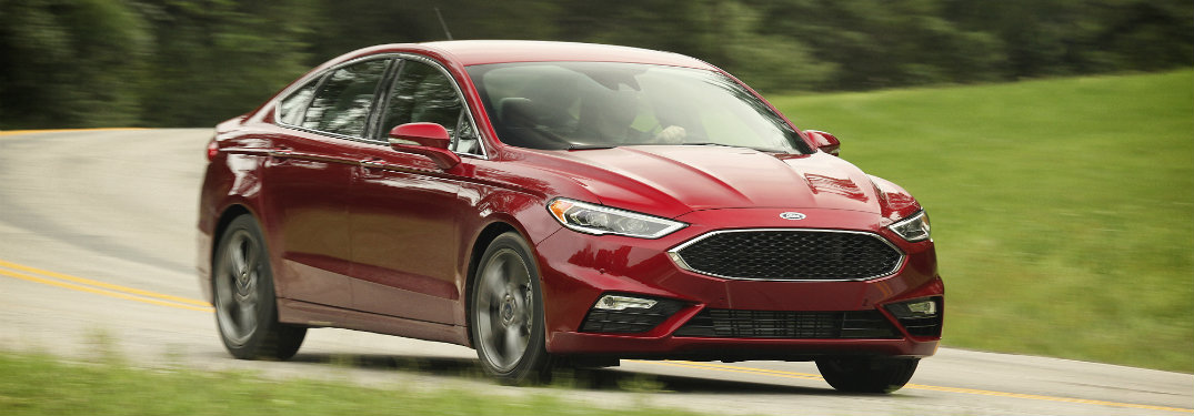 2017 Ford Fusion exterior color options