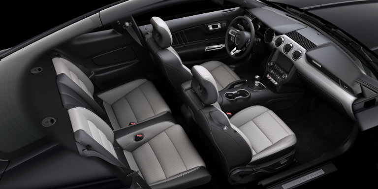 2017 Ford Mustang With Ceramic Leather