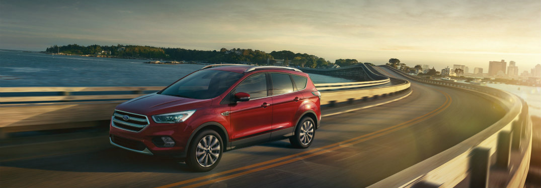 2017 Ford Escape pricing information
