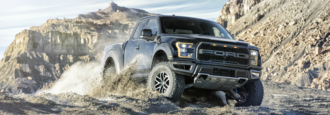 2017 Ford F-150 off-road capability