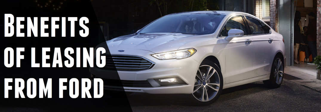 Benefits of leasing from Ford