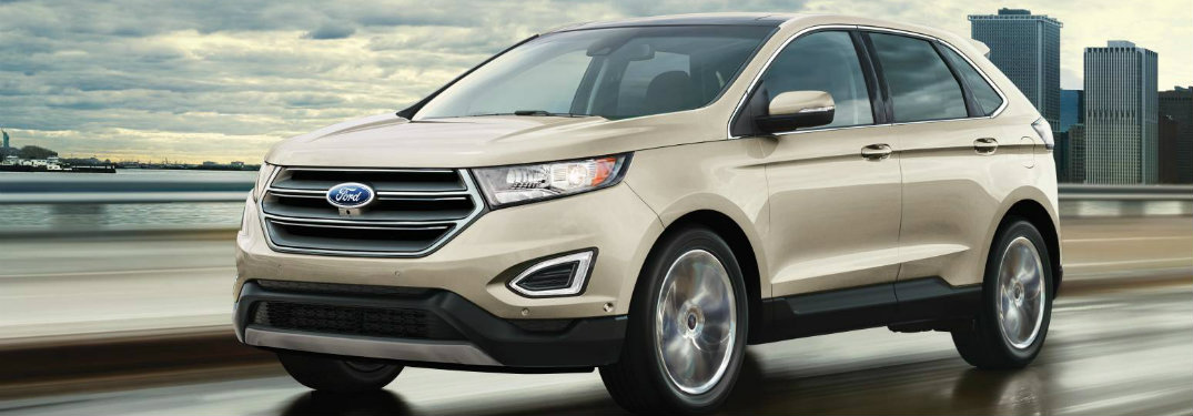 2017 Ford Edge engine performance