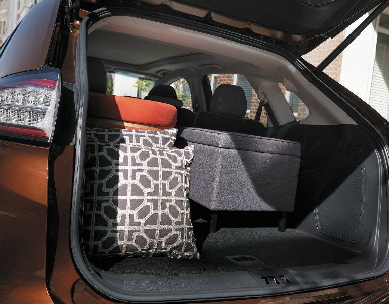 Which Ford vehicles have the most trunk space?