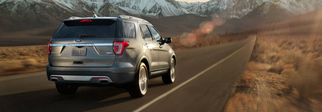 2017 Ford Explorer safety features
