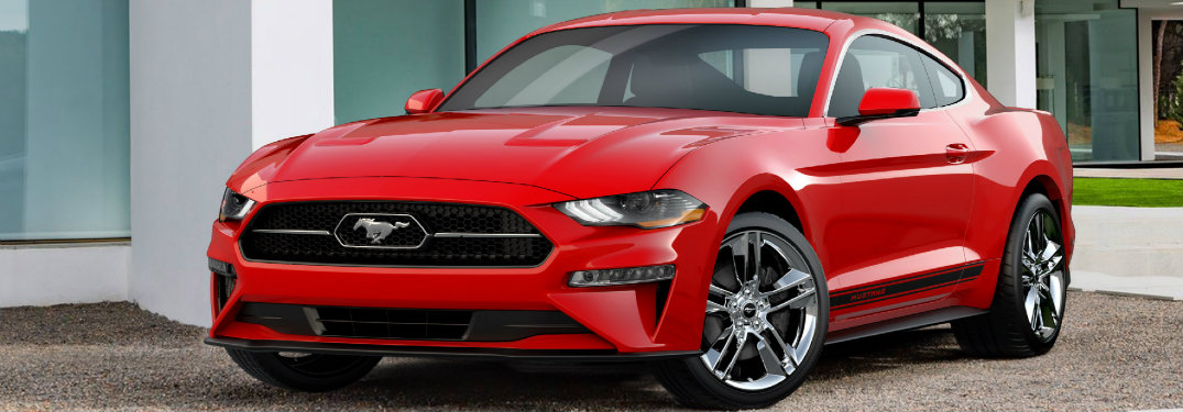 2018 Ford Mustang appearance package