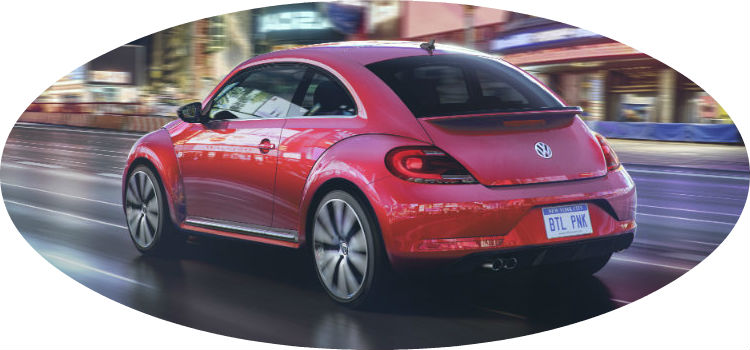 limited edition pink 2017 volkswagen beetle