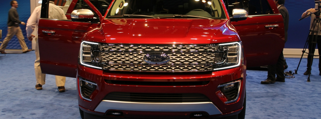 2018 Ford Expedition Specs Debut at 2017 Chicago Auto Show