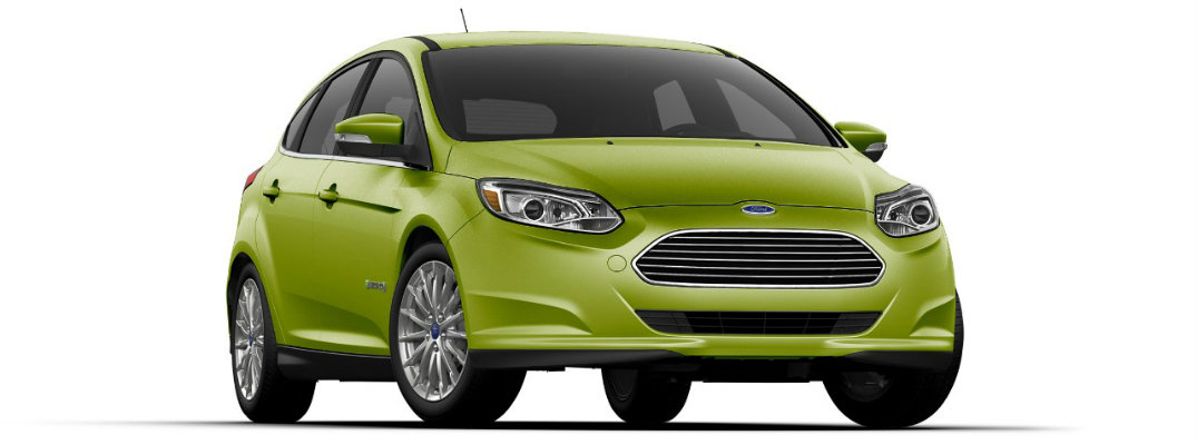 Outrageous Green Metallic 2018 Ford Focus Electric