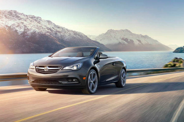Enjoy the wind blowing through your hair in the 2016 Buick Cascada