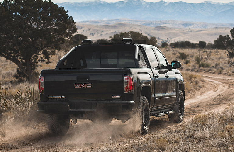2016 GMC Sierra 1500 in black