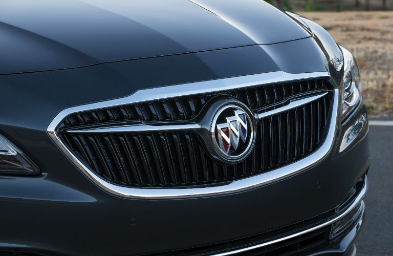 Redesigned Front End of 2017 Buick LaCrosse